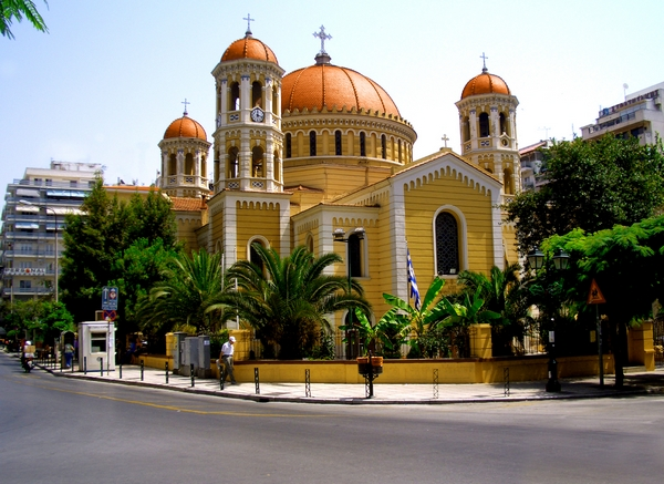 Metropolitan Church of Saint Gregory Palamas, Thessaloniki, Greece